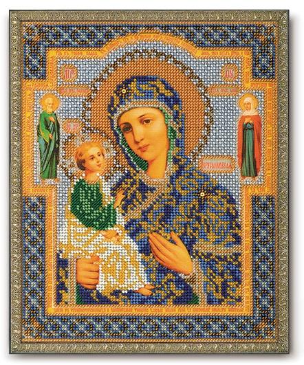 Набор икона из бисера Смоленская Богородица