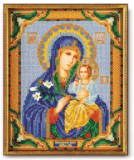 Набор икона из бисера Богородица Неувядаемый цвет