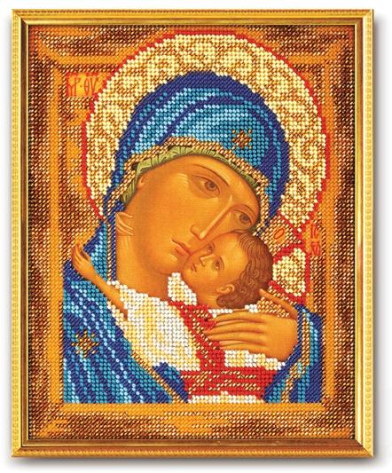 Набор икона из бисера Богородица Умиление 2