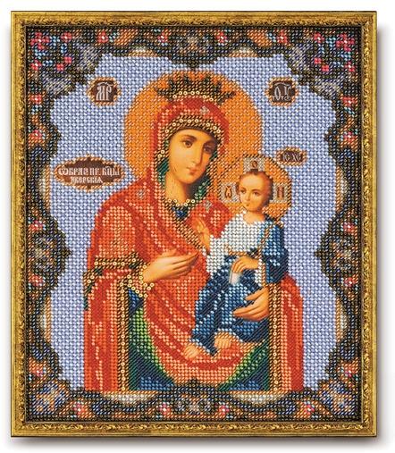 Набор икона из бисера Иверская Богородица