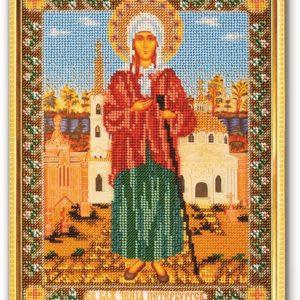 Набор икона из бисера Ксения Петербургская