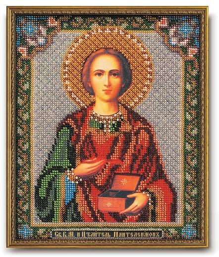 Набор икона из бисера Св. М.Ч. и Целитель Пантелеимон