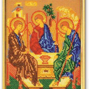 Набор икона из бисера Святая Троица
