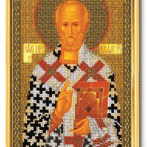 Набор икона из бисера Святитель Николай Чудотворец