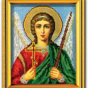 Набор икона из ювелирного бисера Ангел-Хранитель