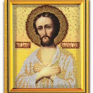 Набор икона из ювелирного бисера Св. Алексий Человек Божий