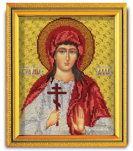 Набор икона из ювелирного бисера Св. Алла