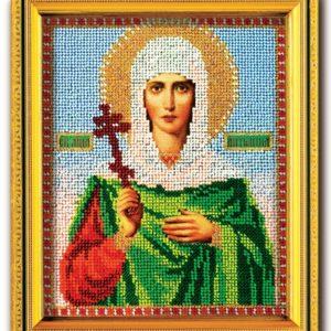 Набор икона из ювелирного бисера Св. Антонина