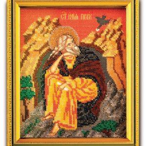 Набор икона из ювелирного бисера Св. Илья