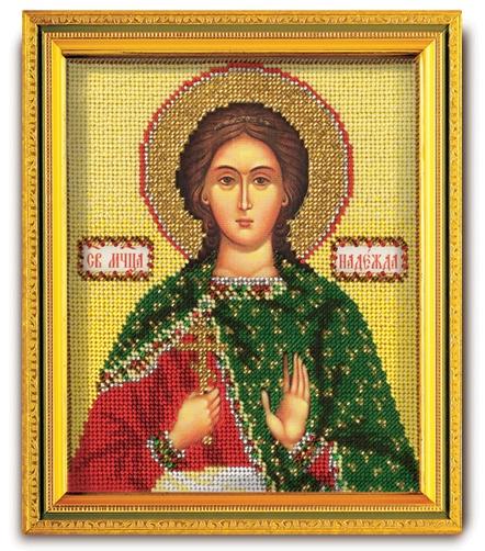 Набор икона из ювелирного бисера Св. Надежда