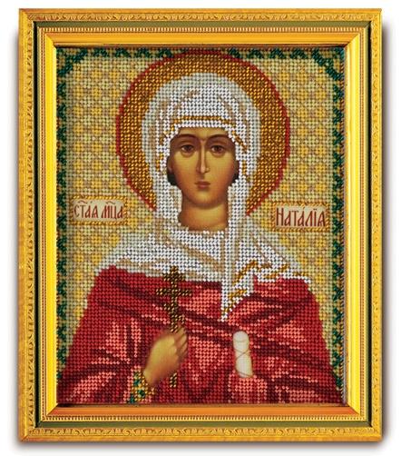 Набор икона из ювелирного бисера Св. Наталья