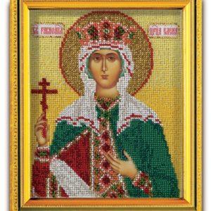 Набор икона из ювелирного бисера Св. Равноапостольная Царица Елена