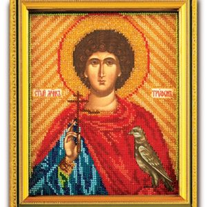 Набор икона из ювелирного бисера Св. Трифон