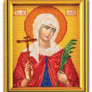 Набор икона из ювелирного бисера Св. Валентина