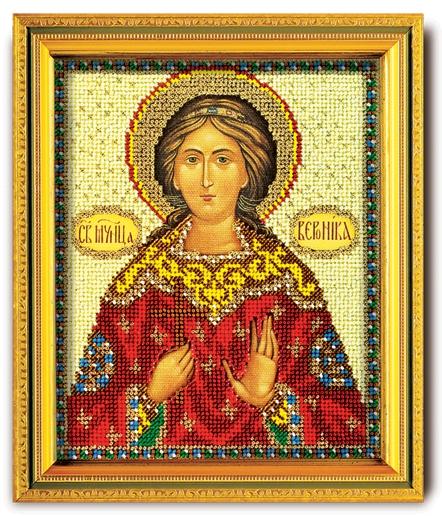 Набор икона из ювелирного бисера Св. Вероника