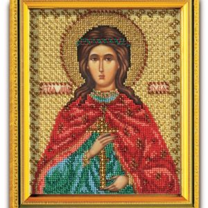 Набор икона из ювелирного бисера Св. Юлия