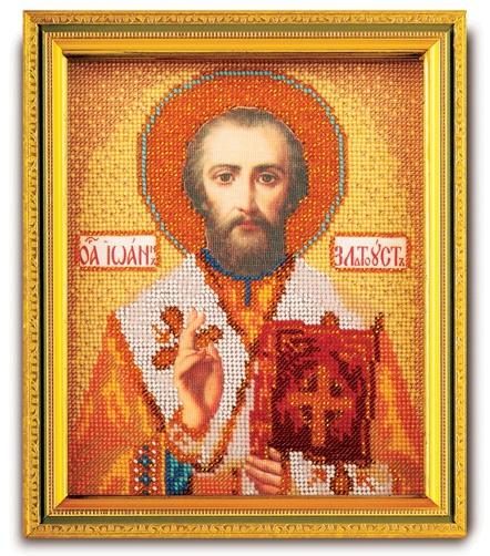 Набор икона из ювелирного бисера Св. Иоанн Златоуст