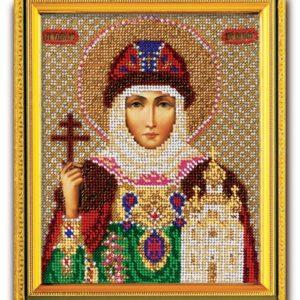 Набор икона из ювелирного бисера Св. Равноапостольная княгиня Ольга