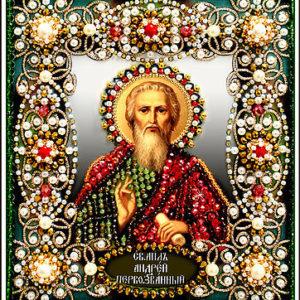 Образа в каменьях икона Святой Андрей арт. 77-и-35