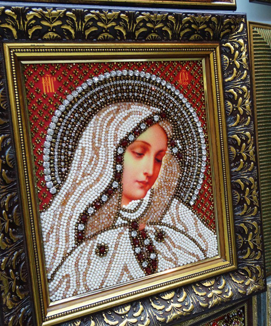 Хрустальные грани Образ Божьей Матери Скорбящая арт. И3