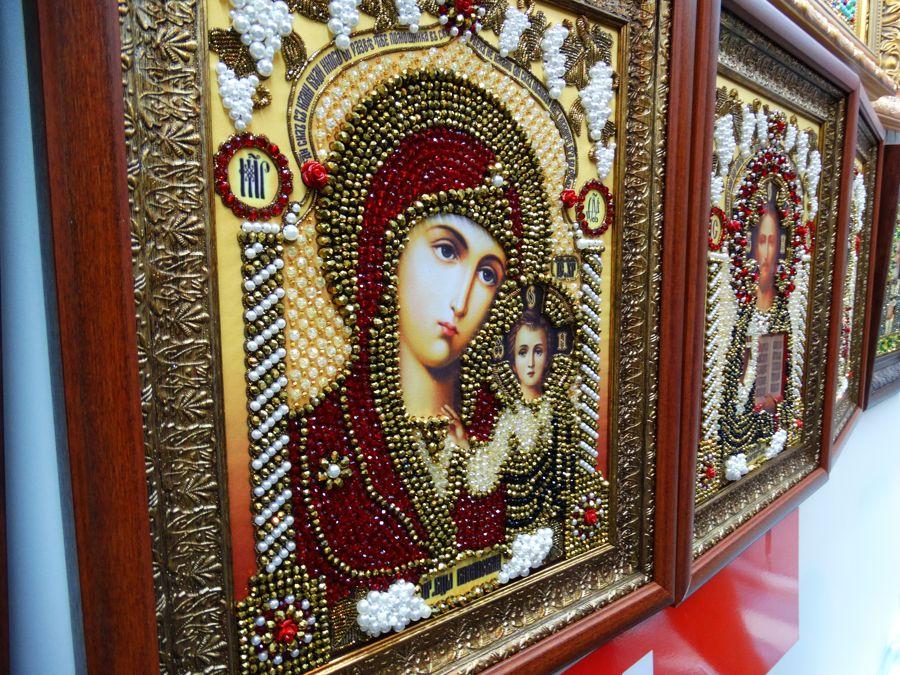 Хрустальные грани Образ Божьей Матери Казанская арт. И-2
