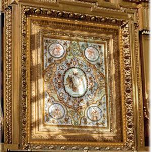 Образа в каменьях Вознесение Господне арт. 77-Е-02