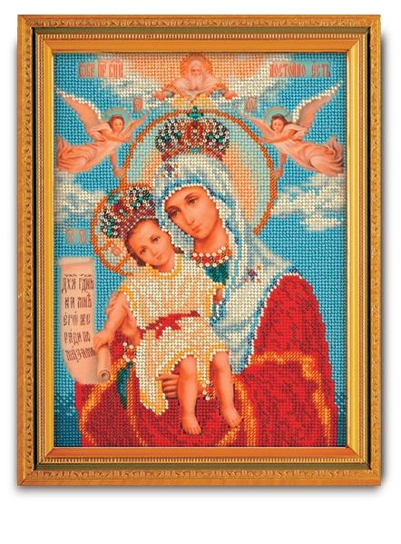 Набор икона из бисера Богородица Милующая