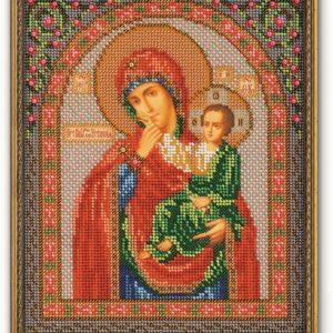 Набор икона из бисера Богородица Отрада и Утешение