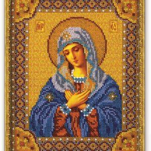 Набор икона из бисера Богородица Умиление