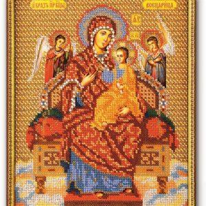 Набор икона из бисера Богородица Всецарица