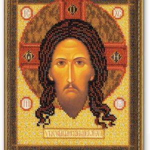 Набор икона из бисера Спас Нерукотворный