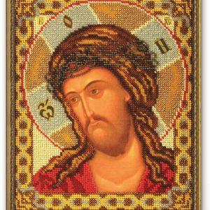 Набор икона из бисера Спас в терновом венце