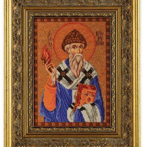 Набор икона из бисера Святитель Спиридон Тримифунтский
