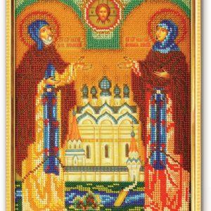 Набор икона из бисера Святые Пётр и Феврония