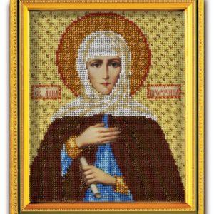 Набор икона из ювелирного бисера Св. Анна Пророчица
