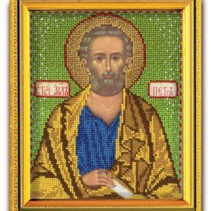 Набор икона из ювелирного бисера Св. Апостол Пётр