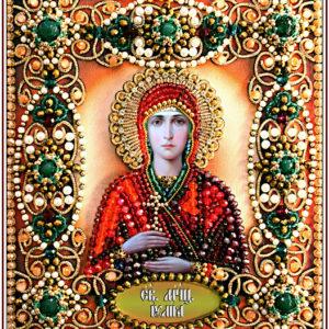 Образа в каменьях икона Святая Юлия арт. 77-И-69