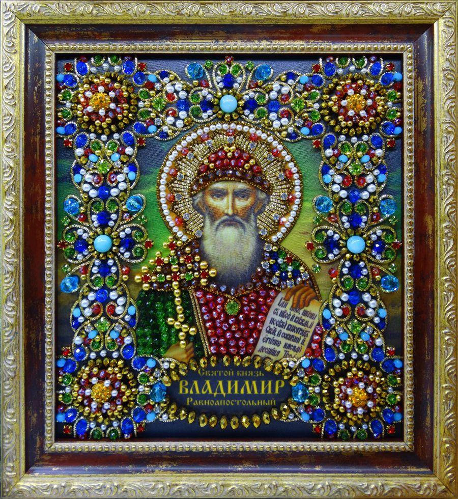Хрустальные грани Образ Святого Владимира Равноапостольного арт. Ии-01