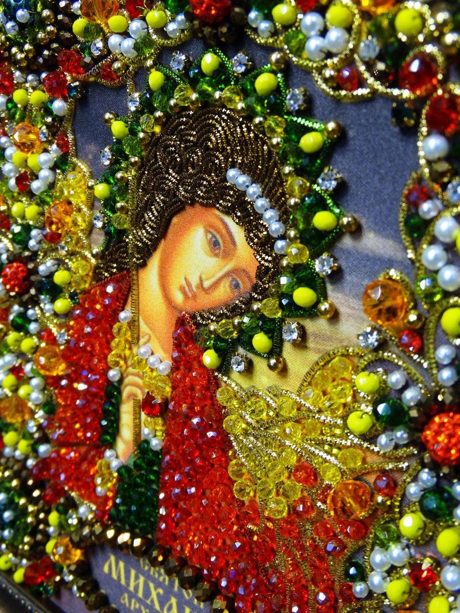 Хрустальные грани Образ Святого Михаила Архангела арт. Ии-10