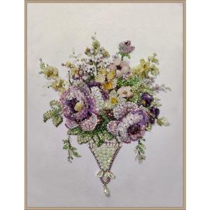 Образа в каменьях Винтаж Violet mini арт. 5545